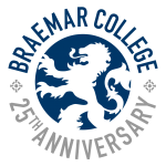 Braemar 25th Anniversary Logo